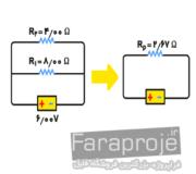 گزارش كار آزمايشگاه فيزيك 2 اندازه گيری قانون اهم در مقاومت سری و موازی