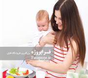 مقاله نقش زنان در انتخاب الگوهای مصرف غذایی و ارائه راهکارهای ﻣﺤﻴط زﻳستی