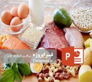 پاورپوینت اسیدهای آمینه و پروتئین ها
